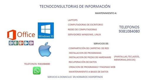 servicios de tecnologias de la información