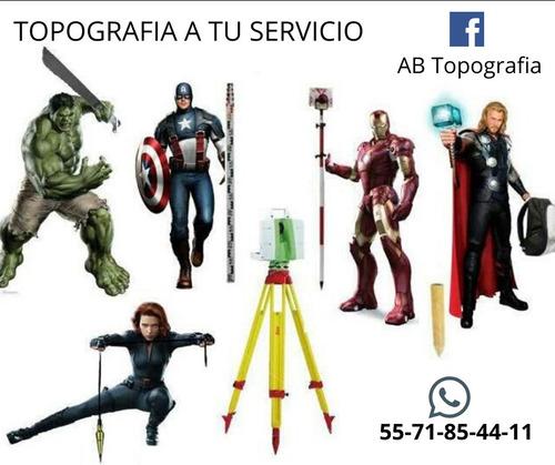 servicios de topografía (agrimensura,obra civil, periciales)