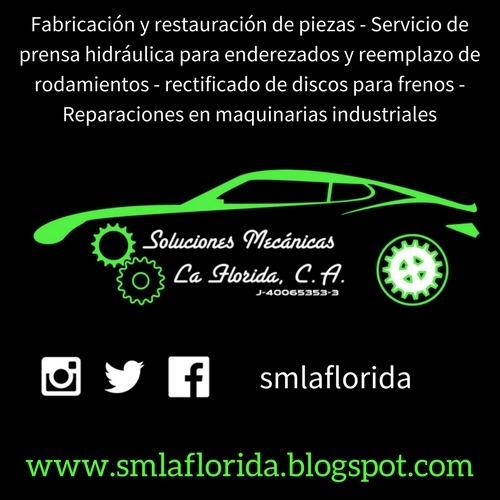 servicios de tornería - fabricación y restauración