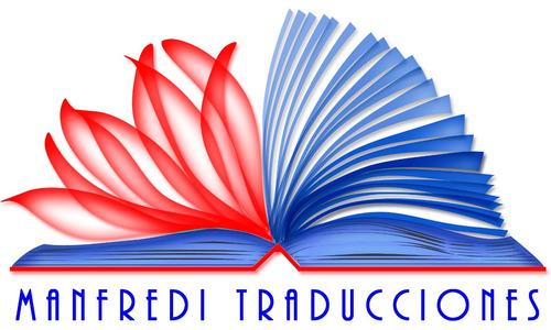 servicios de traducción inglés-español/español-inglés