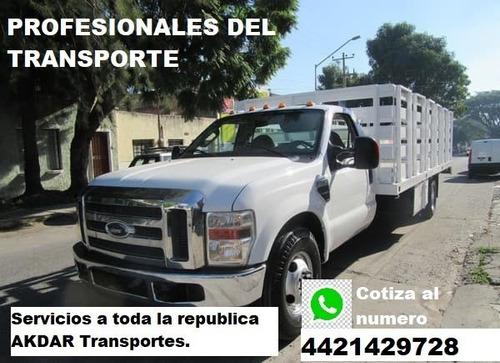 servicios de transporte a todo el país