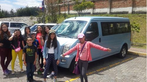 servicios de transporte privado turístico