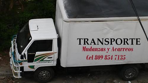 servicios de transporte y acarreo