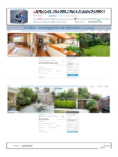 servicios de valuación inmobiliaria; justificación propósito
