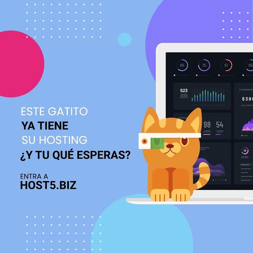 servicios de webhosting y digitales. host5 hosting