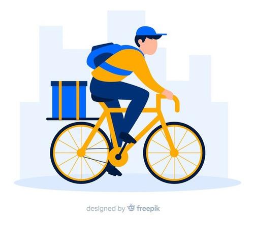servicios delivery zona centro en bicicleta
