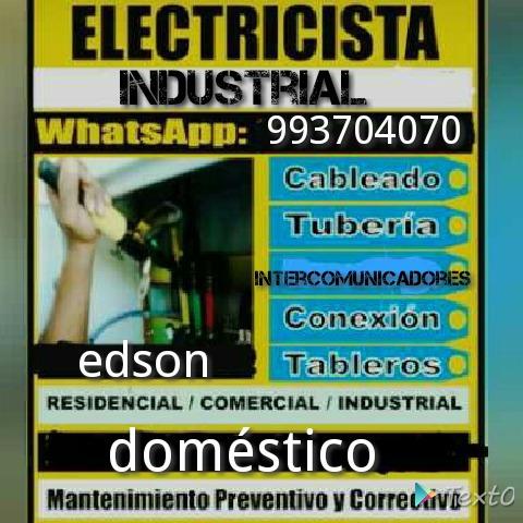 servicios electricista industrial