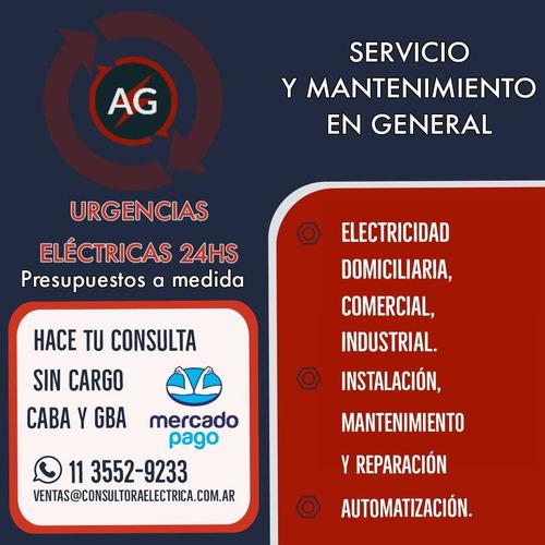 servicios eléctricos a g