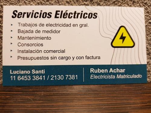 servicios electricos en general