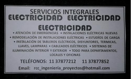 servicios eléctricos integrales