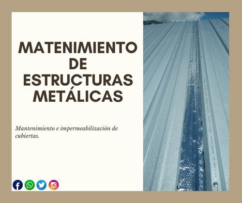 servicios en estructuras metálicas