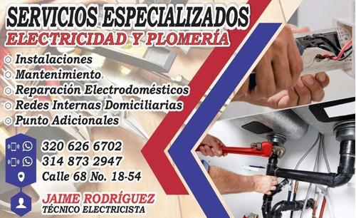 servicios especializados en electricidad