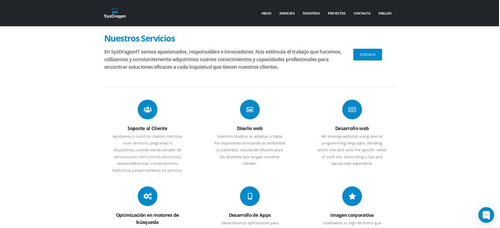 servicios informáticos páginas web página web website