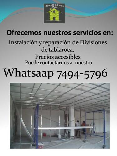 servicios instalación reparación