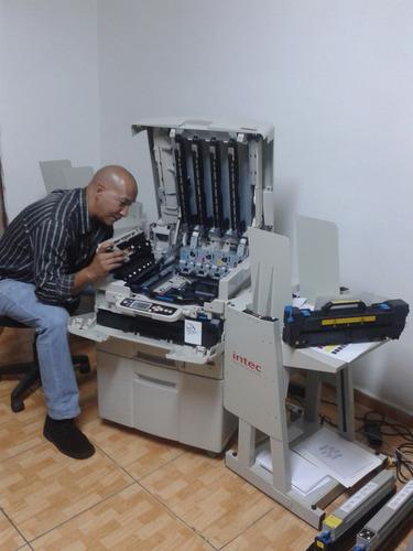 servicios  intec cp/xp 2020/xerox7400/oki 9600/xanté 502