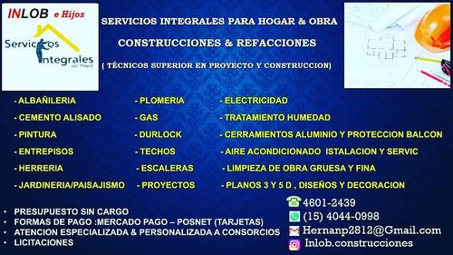 servicios integrales para hogar & obra