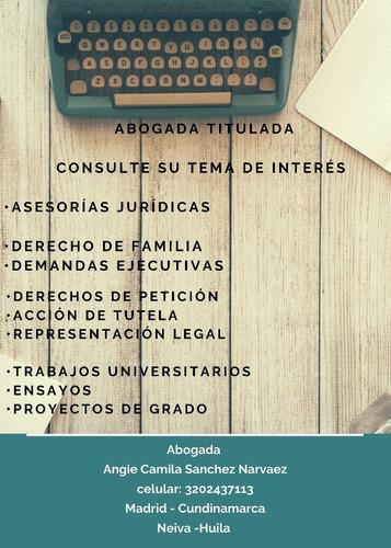 servicios jurídicos y trabajos universitarios