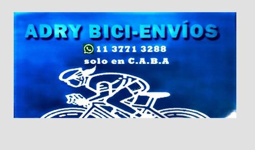 servicios mensajeria segura envio seguro bicicleteando