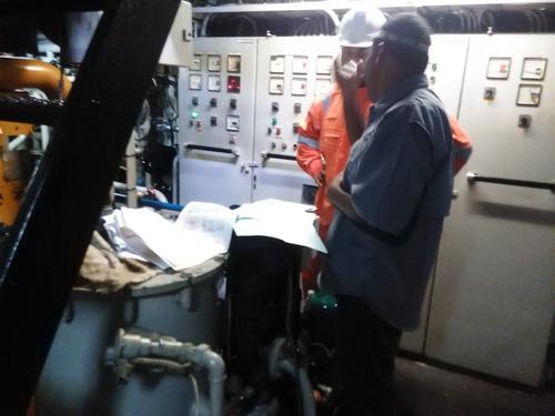 servicios navales soldadura, pintura, instalación de equipos