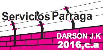 servicios parraga darson jk 2016, c.a