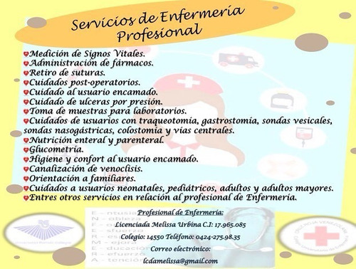 servicios profesionales a domicilio