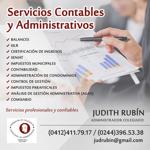 servicios profesionales administrativos, contables y legales