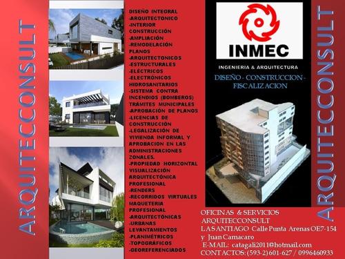 servicios profesionales de arquitectura