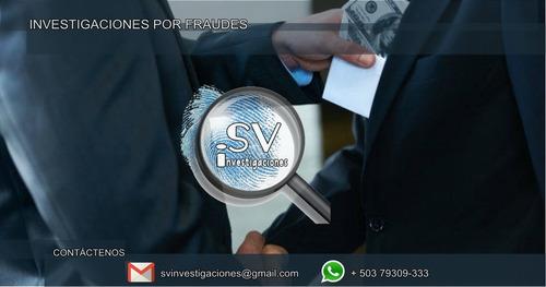 servicios profesionales de investigaciones privadas