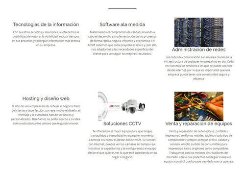 servicios profesionales de tecnologia e infiormatica