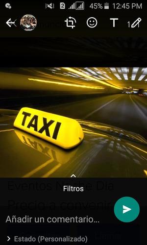 servicios taxi ejecutivos particulares/empresas/ escolares.