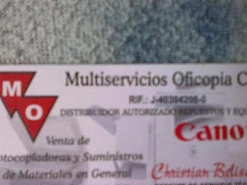servicios tecnico de fotocopiadoras canon.