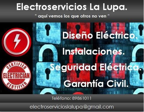 servicios tecnicos con garantia. electricidad, electronica,