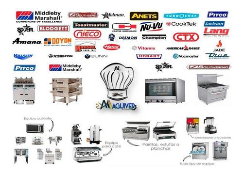 servicios tecnicos de cocinas, planchas, freidoras, otros