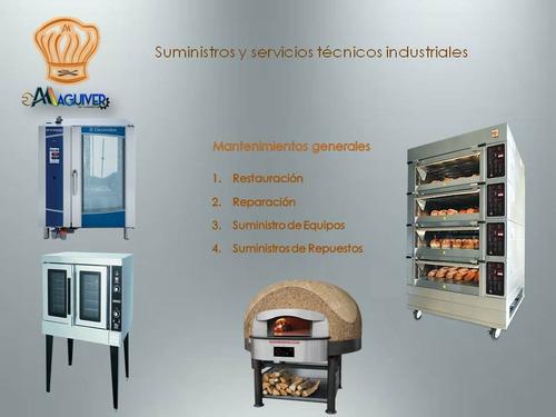 servicios técnicos en hornos industriales.