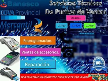servicios técnicos en puntos de venta