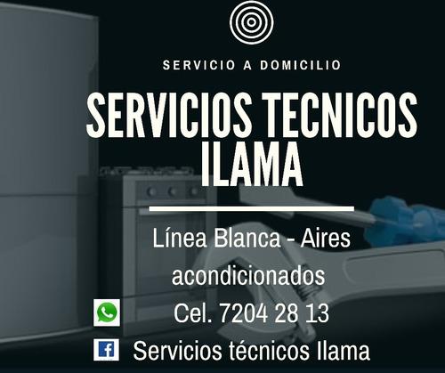 servicios técnicos ilama línea blanca y refrigeración