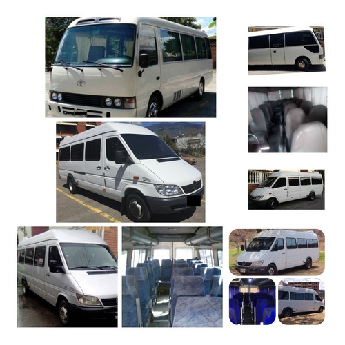 servicios transporte personal ejecutivo turistico y familiar