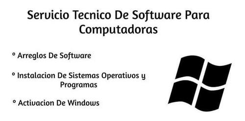 servicios varios para computadores y consolas de videojuegos