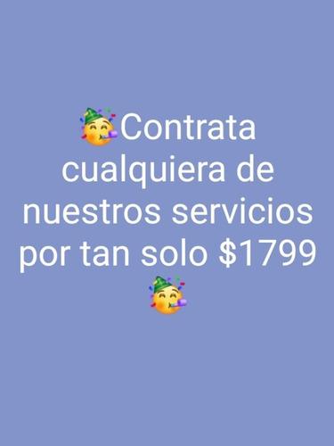 servicios y productos promocionales