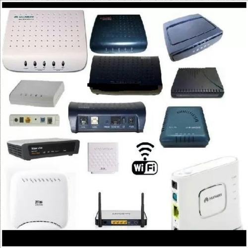 servicios y reparación de modem.