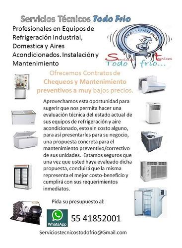 servicios y reparacion de refrigeradores y a. acondicionados