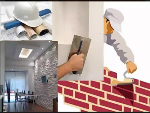 servicios/construcción: albañilería, electricidad, plomeria
