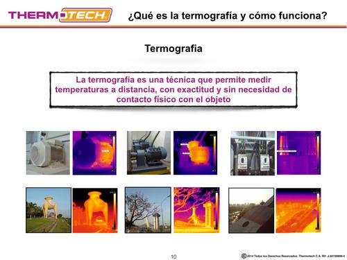 servicios,ventas, capacitación termografía y vibraciones