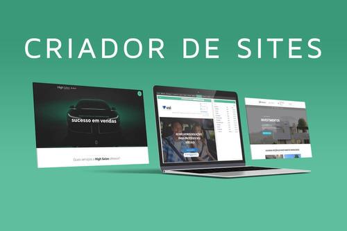 serviço de criação de sites