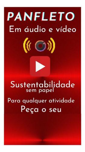 serviço de criação panfleto com tecnologia de áudio e vídeo