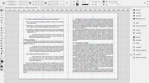 serviço de diagramação de livros (diagramador) até 100 pág.