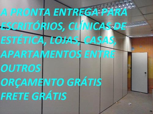 serviço de divisórias eucatex forro pvc mão de obra