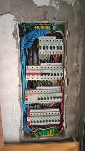 serviço de eletrica