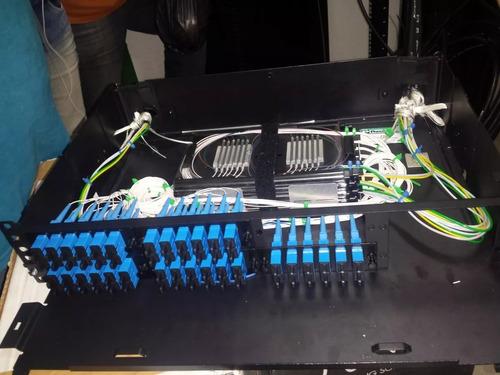 serviço de fusão de fibra òptica
