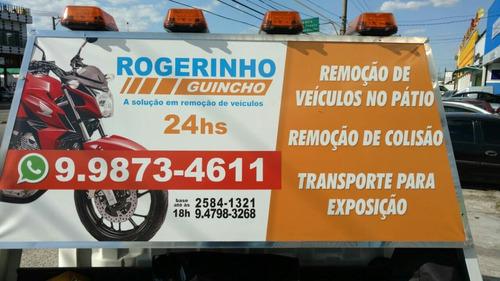 serviço de guincho 24 hrs (rogerinho guincho)